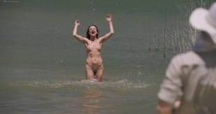 Juliette Lewis nude full frontal skinny dipping - Camping (2018) HD 1080p (3)