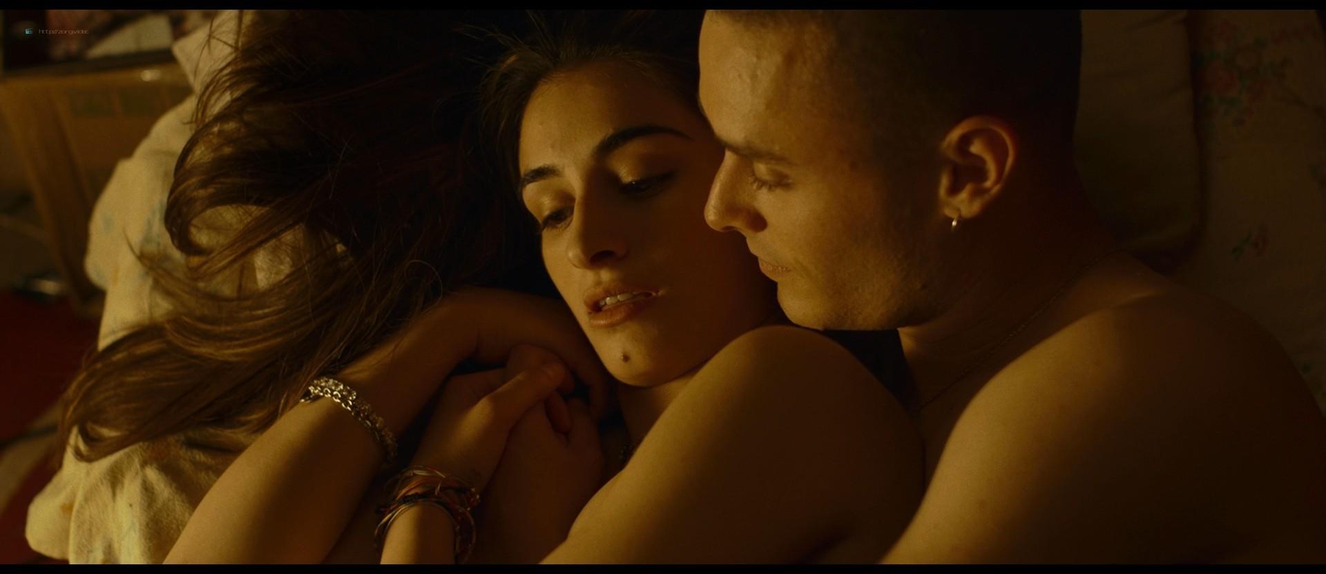 Michela De Rossi nude topless and hot sex - La Terra dell'abbastanza (IT-2018) HD 1080p BluRay (10)