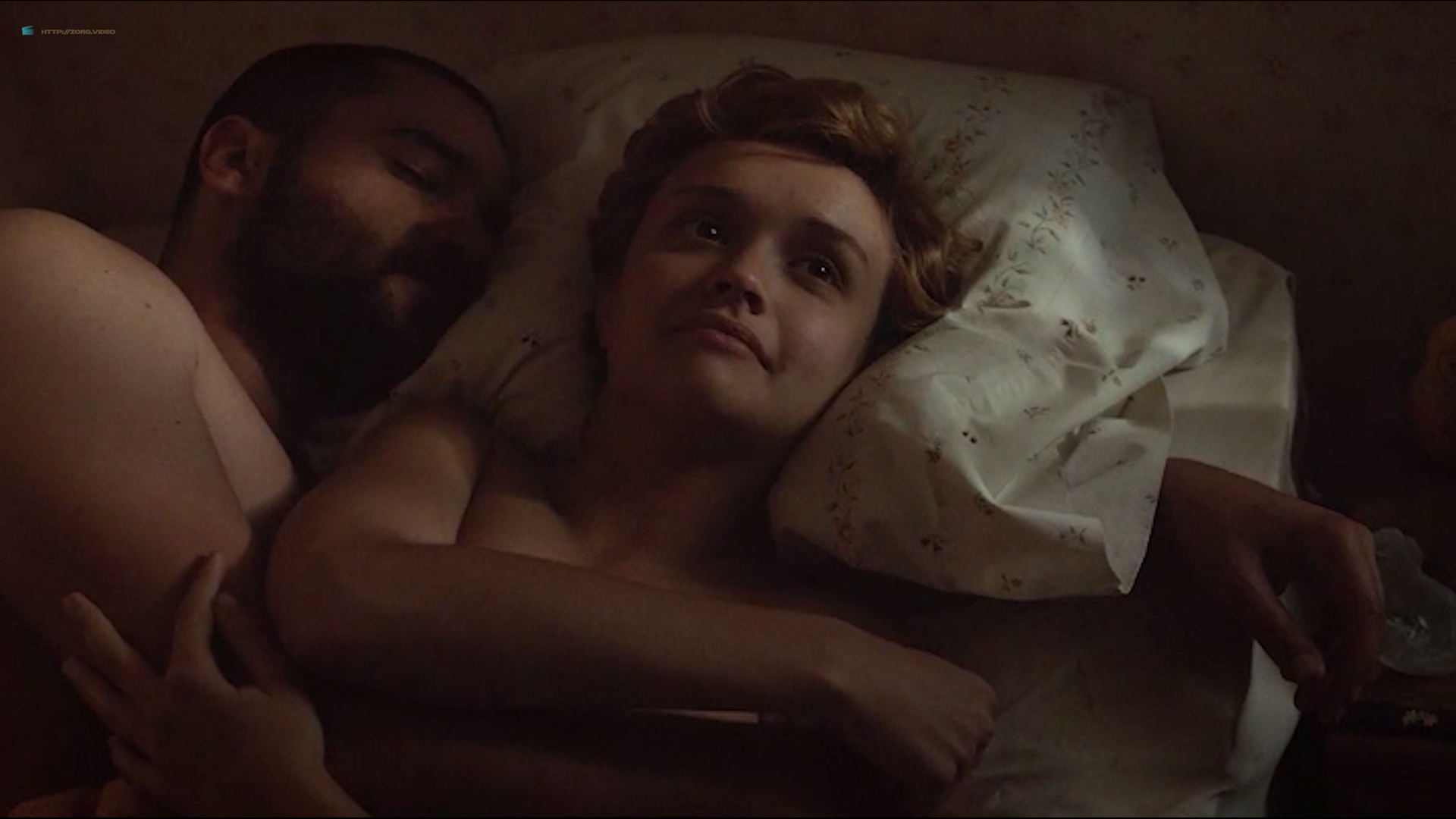 Olivia Cooke nude topless and sex doggy style- Katie Says Goodbye (2016) HD 1080p Web (2)