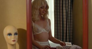 Olivia Thirlby hot see through and sexy in lingerie - White Orchid (2018) HD 1080p (3)