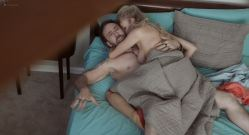 Penelope Mitchell nude butt boobs and lot of sex Franka Potente hot sex - Between Worlds (2018) HD 1080p Web (8)