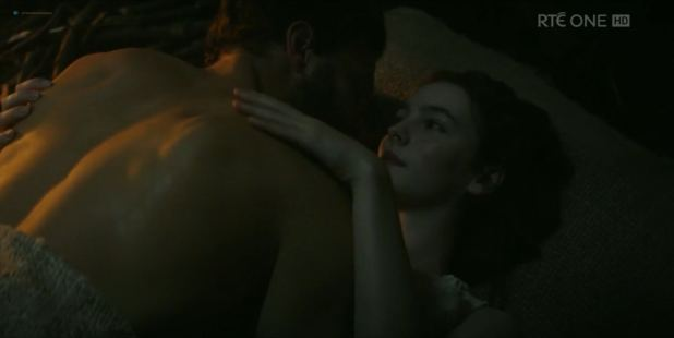 Ann Skelly hot, wet and see through - Death and Nightingales (UK-2018) s1e1 HDTV 1080p (4)