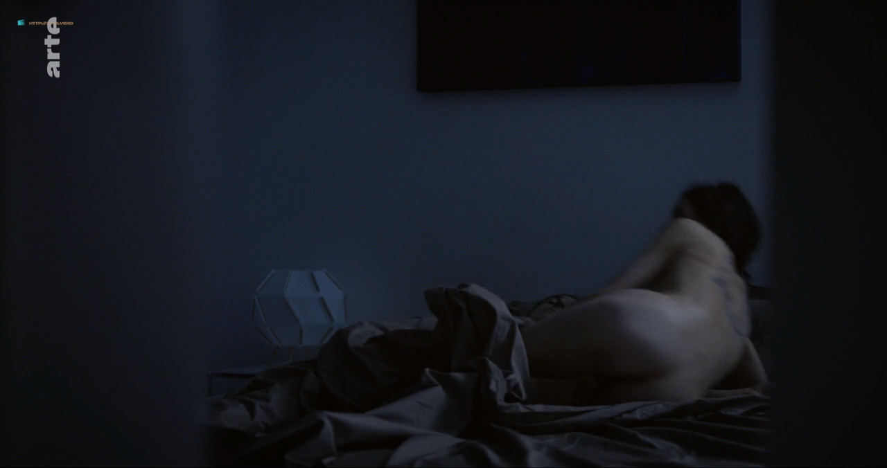 Anne Azoulay Lea Shirt Bed Famous Nude Scene Cute Actress Sexy