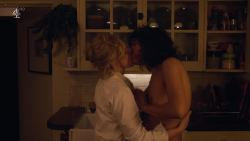 Desiree Akhavan nude topless and lesbian sex with Maxine Peake - The Bisexual (2018) s1e5 HD 1080p (8)