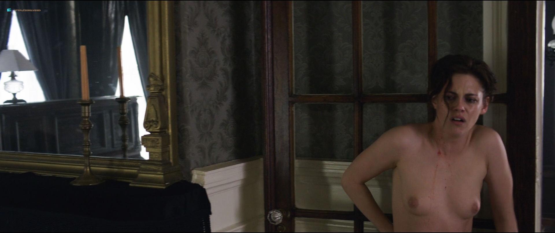 Kristen Stewart nude topless Chloe Sevigny nude topless and butt - Lizzie (2018) HD1080p BluRay (2)