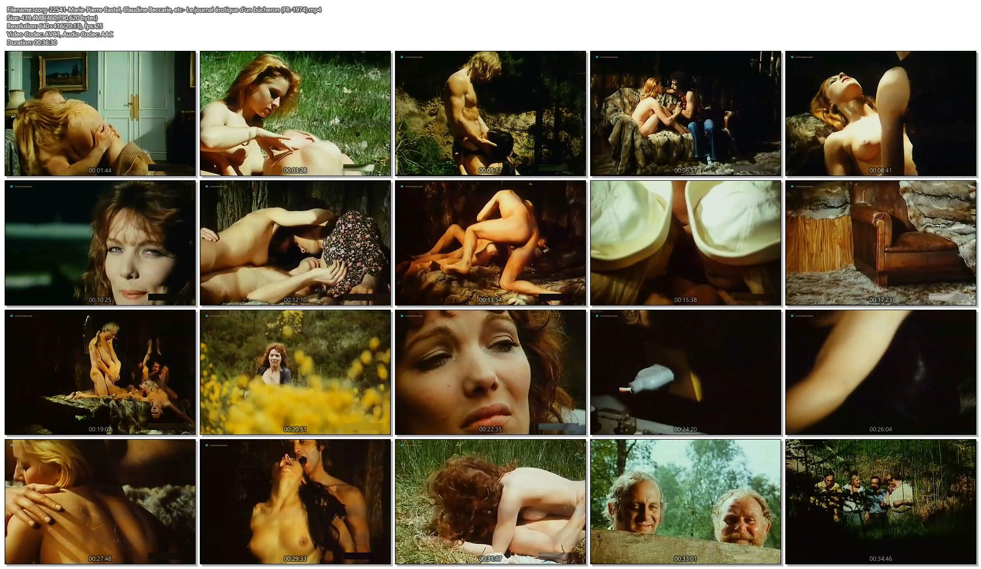 Marie-Pierre Castel nude explicit sex Claudine Beccarie and others nude - Le journal érotique d'un bûcheron (1)