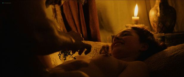 Florence Pugh nude topless and sex - Outlaw King (2018) HD 1080p Web (5)