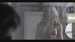 Aliette Opheim nude topless and butt in the shower - Fortitude (2018) s3e4 HDTV 1080p (3)