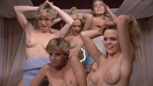 Kristi Somers nude topless Darcy DeMoss, Teal Roberts and others nude too - Hardbodies (1984) HD 1080p