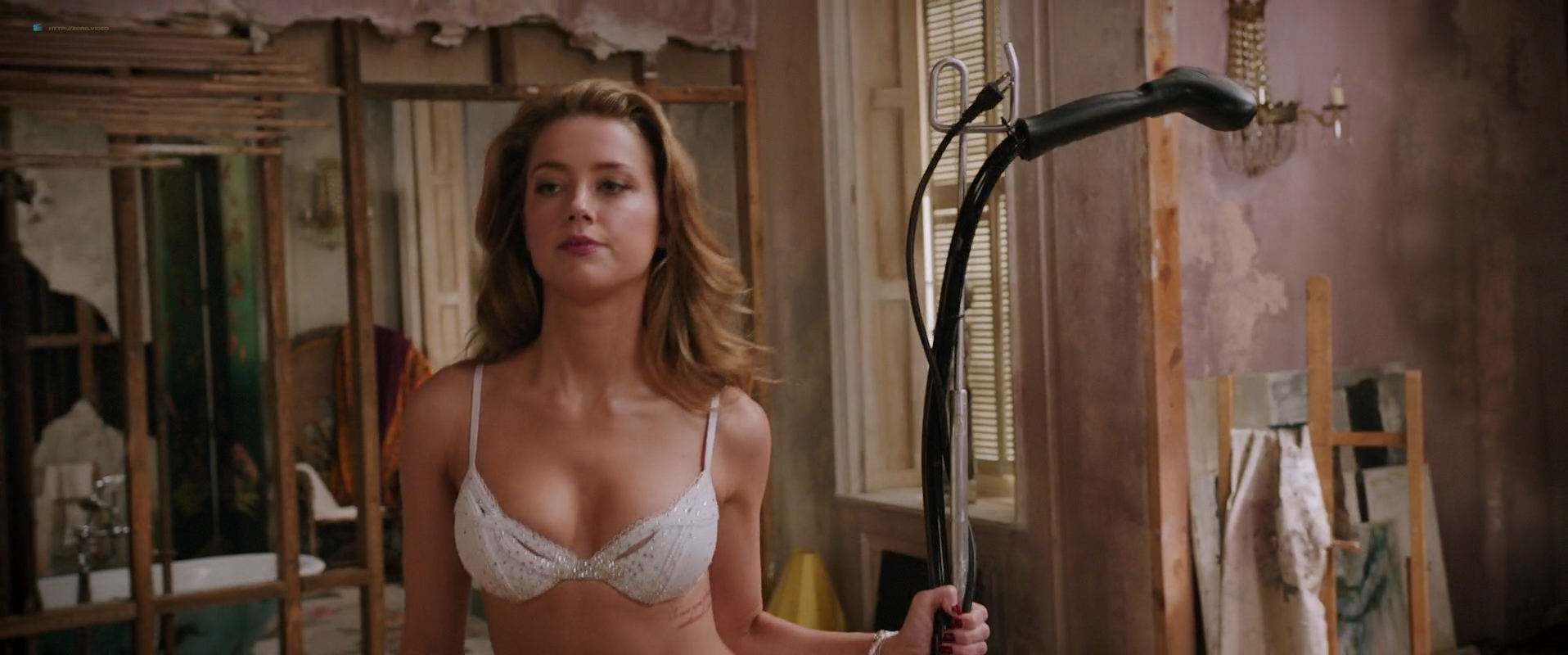 Amber Heard Topless amber heard nude butt and very hot - london fields (2018) hd