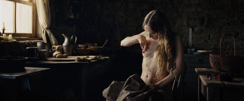 Hilary Swank nude bush Sonja Richter nude topless - The Homesman (2014) HD 1080p BluRay (8)