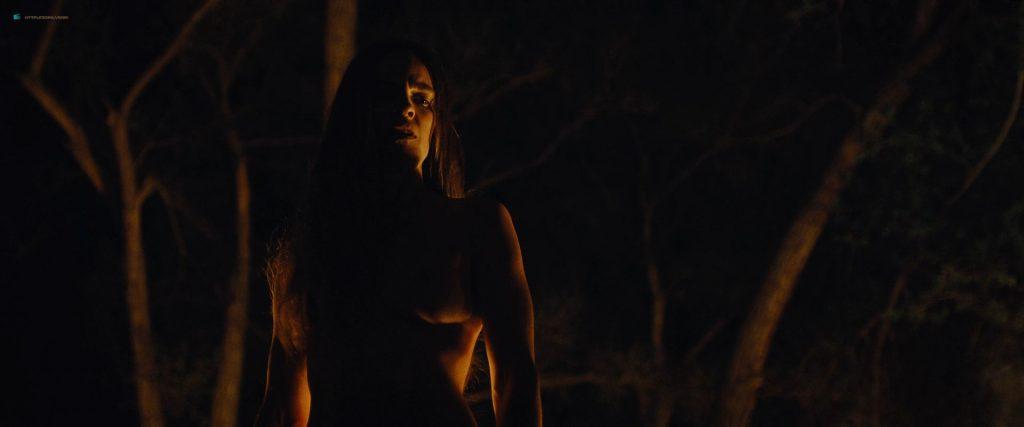 Hilary Swank nude bush Sonja Richter nude topless - The Homesman (2014) HD 1080p BluRay (7)