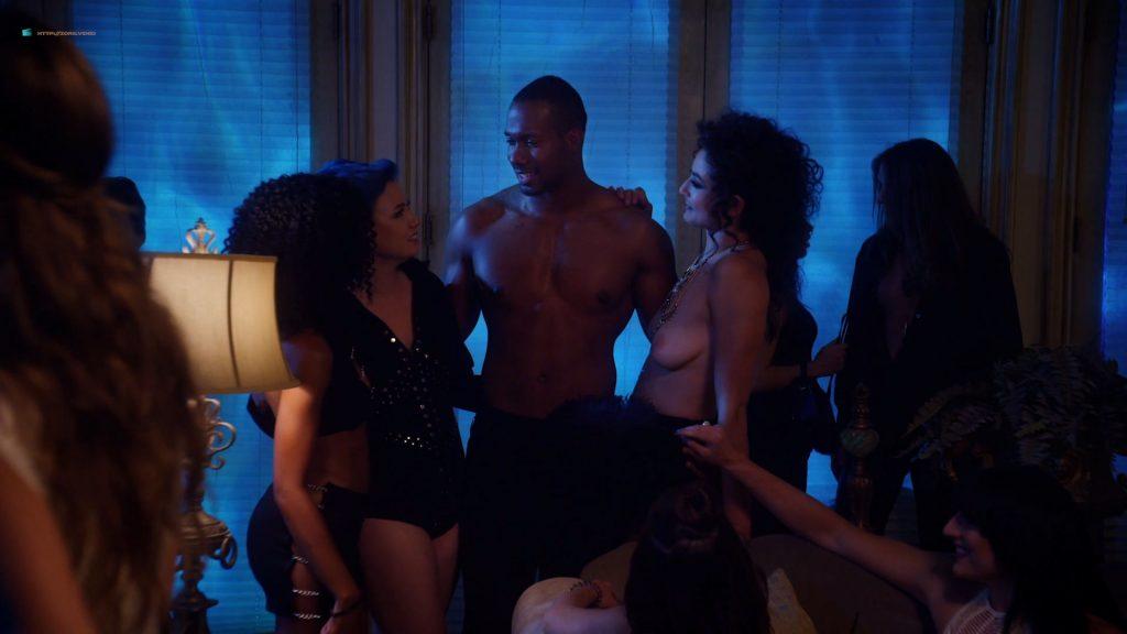 Kelli Berglund nude Roxane Mesquida sex threesome - Now Apocalypse (2019) s1e6-7 HD 1080p (12)