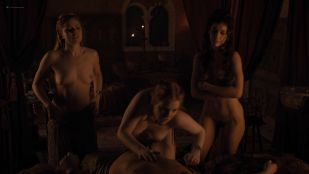 Josephine Gillan nude full frontal Lucy Aarden nude  - Game of Thrones(2019) s8e1 HD 1080p