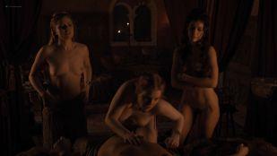 Josephine Gillan nude full frontal Lucy Aarden nude  - Game of Thrones(2019) s8e1 HD 1080p