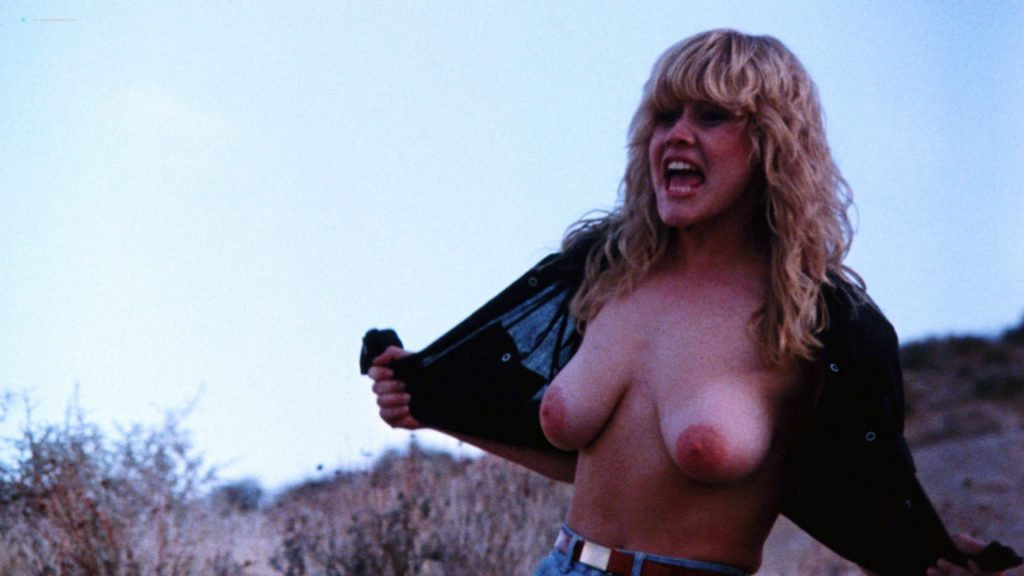 Kimberly McArthur nude topless Sybil Danning, Barbara Edwards other's nude too - Malibu Express (1985) HD 1080p BluRay (3)