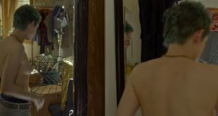 Kristen Stewart nude side boob and a boob Diane Kruger sexy - JT LeRoy (2018) HD 1080p Web (10)