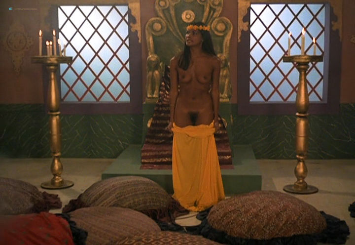 Laura Gemser nude full frontal Simone Brahmann and other nude and lot of sex - Love Camp (DE-1981) (5)