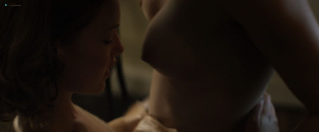 Anna Paquin nude topless and lesbian sex with Holliday Grainger - Tell It to the Bees (2018) HD 1080p Web (6)