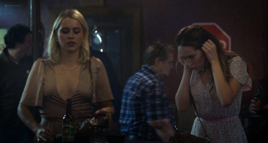 Francesca Eastwood hot sex Claire Holt and Alycia Debnam-Carey hot - A Violent Separation (2019) HD 1080p (10)