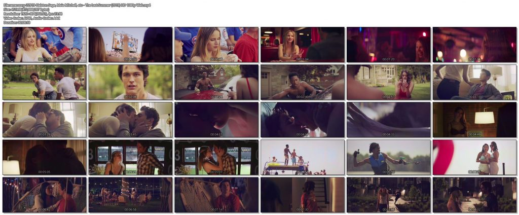 Halston Sage hot Maia Mitchell sex others hot and sexy - The Last Summer (2019) HD 1080p Web (1)