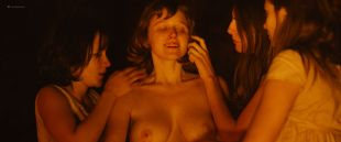 Hannah Murray nude sex Marianne Rendón, Kayli Carter and others nude too - Charlie Says (2018) HD 1080p Web