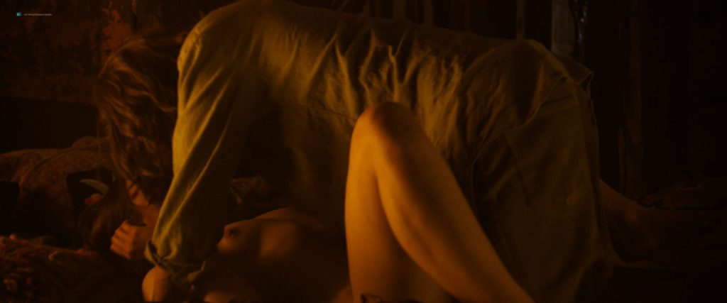 Hannah Murray nude sex Marianne Rendón, Kayli Carter and others nude too - Charlie Says (2018) HD 1080p Web (7)