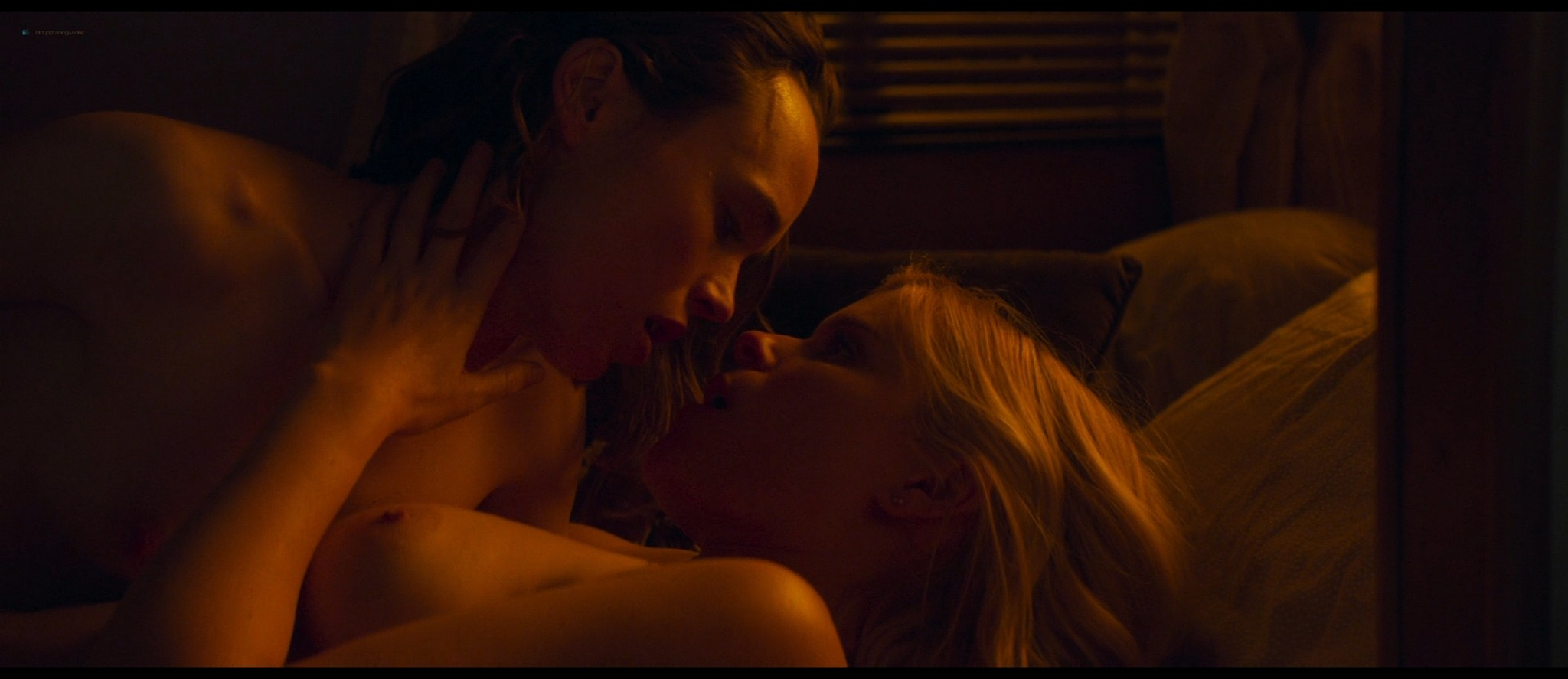 Kate Mara nude topless and lesbian sex with Ellen Page - My Days Of Mercy (2019) HD 1080p BluRay (9)