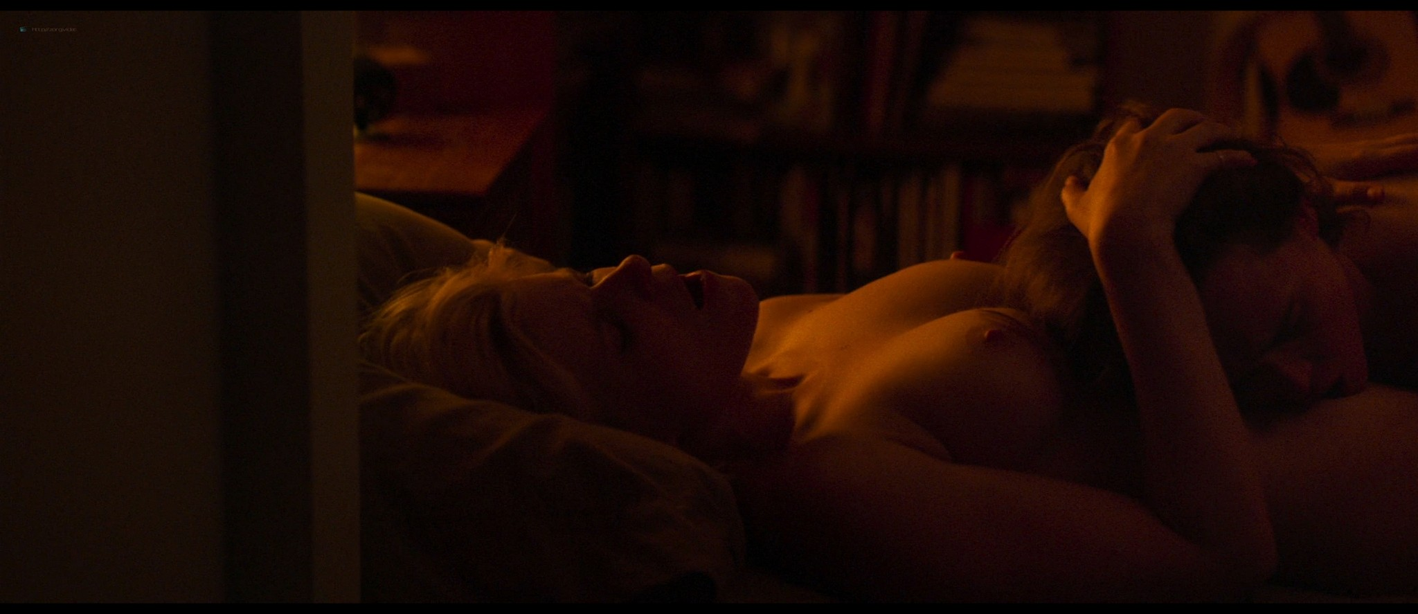 Kate Mara nude topless and lesbian sex with Ellen Page - My Days Of Mercy (2019) HD 1080p BluRay (5)