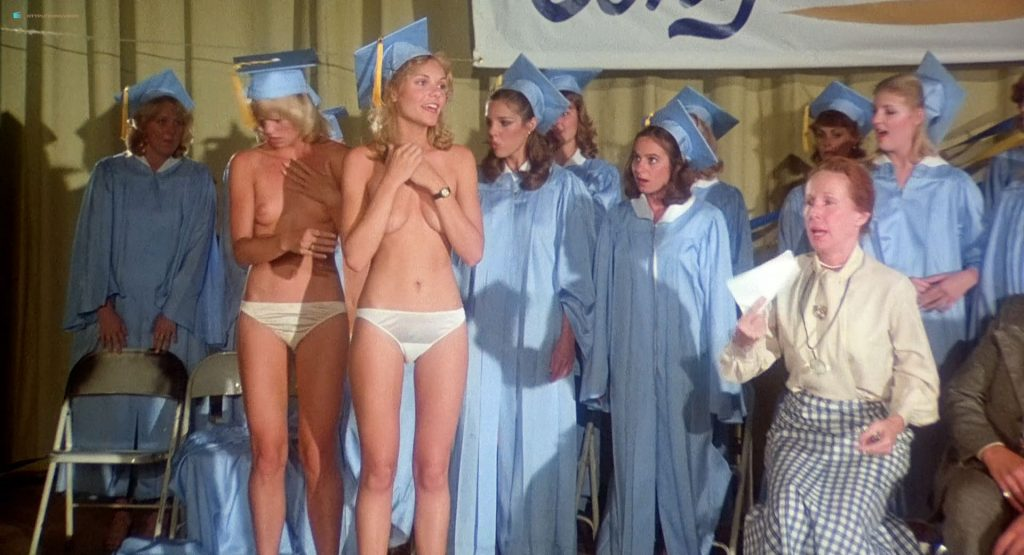 Sandy Johnson nude topless Kirsten Baker and Rikki Marin nude too - Gas Pump Girls (1979) HD 1080p BluRay (12)