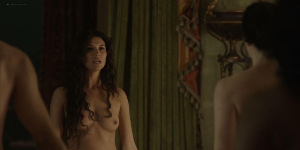 Amara Zaragoza nude topless Bella Heathcote hot orgy sex – Strange Angel (2018) s2e2 HD 1080p WEB (8)
