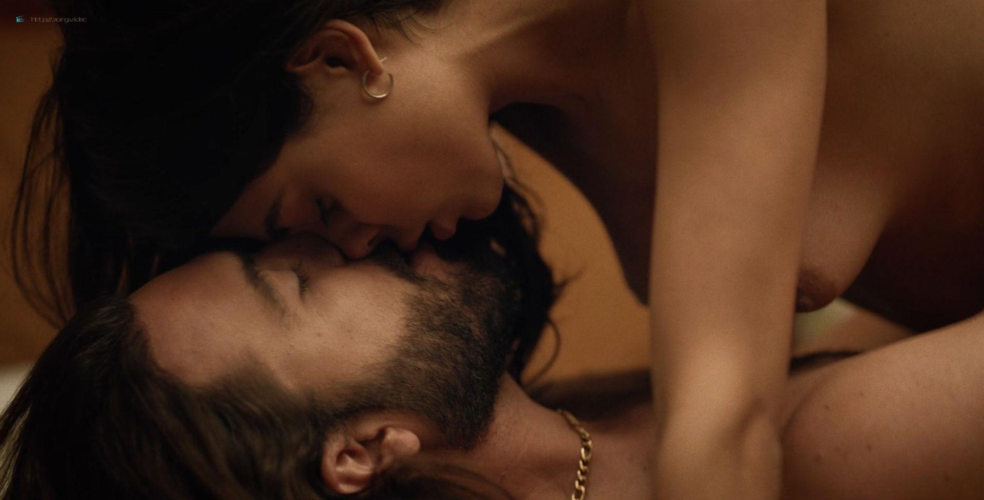 Ana Layevska nude lesbian sex with Florencia Ríos - Yankee (2019) S1 HD 1080p (6)