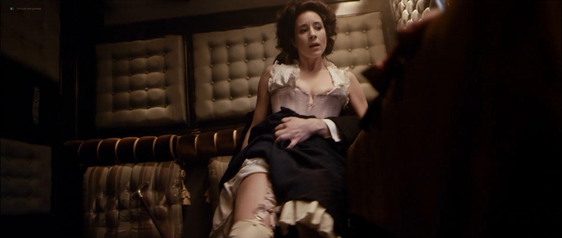 Anastasiya Meskova nude full frontal Olga Sutulova nude sex - Trotsky (2017) s1e1-2 HD 1080p (4)