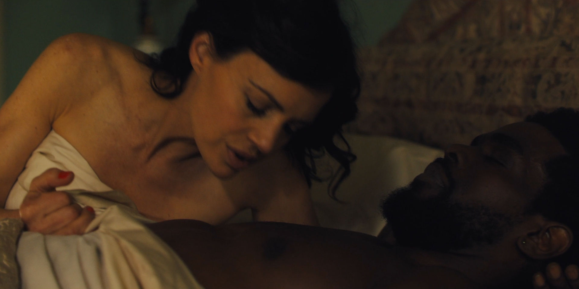 Carla Gugino hot some sex Jodie Turner-Smith nude and sex - Jett (2019 ) s1e1 HD 1080p (7)