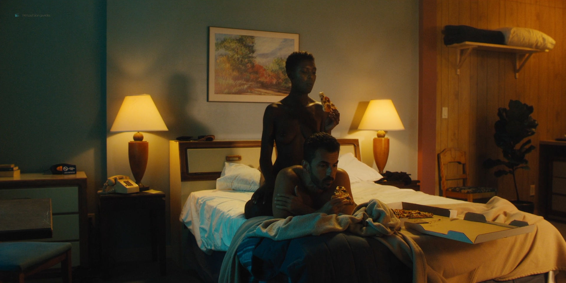 Elena Anaya nude full frontal Gaite Jansen and Jodie Turner-Smith nude - Jett (2019) s1e2 HD 1080p (17)