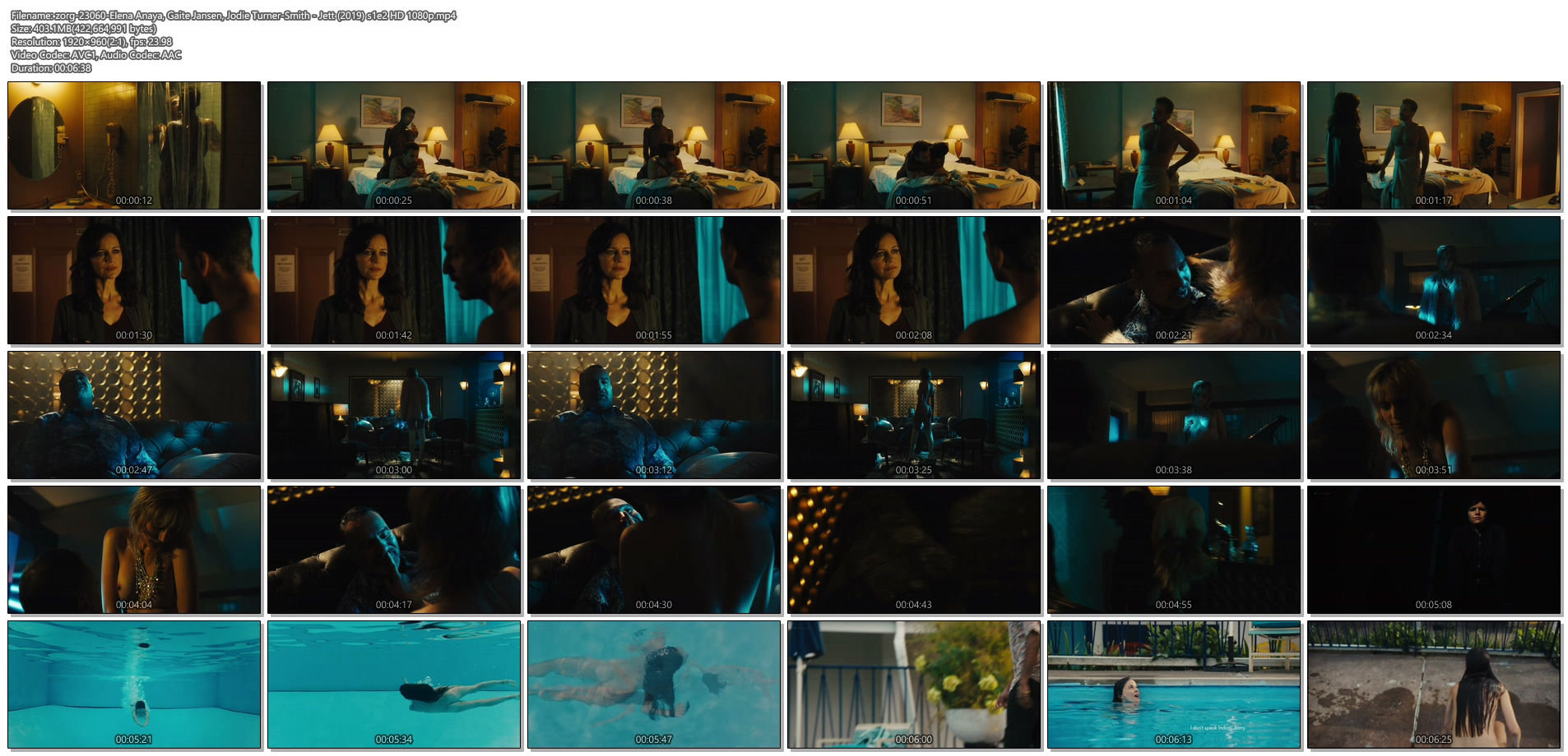 Elena Anaya nude full frontal Gaite Jansen and Jodie Turner-Smith nude - Jett (2019) s1e2 HD 1080p (1)