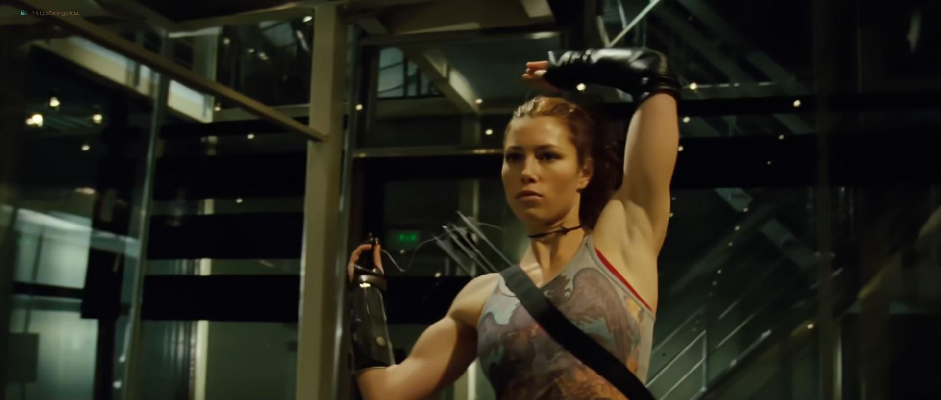 Jessica Biel hot and sexy - Blade Trinity (2004) HD 1080p BluRay (8)