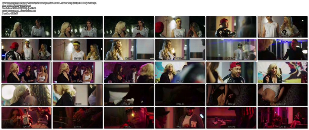 Kinsey Wolanski nude topless and busty Simona Shyne and Sole Bovelli hot - Slasher Party (2018) HD 1080p Web (1)