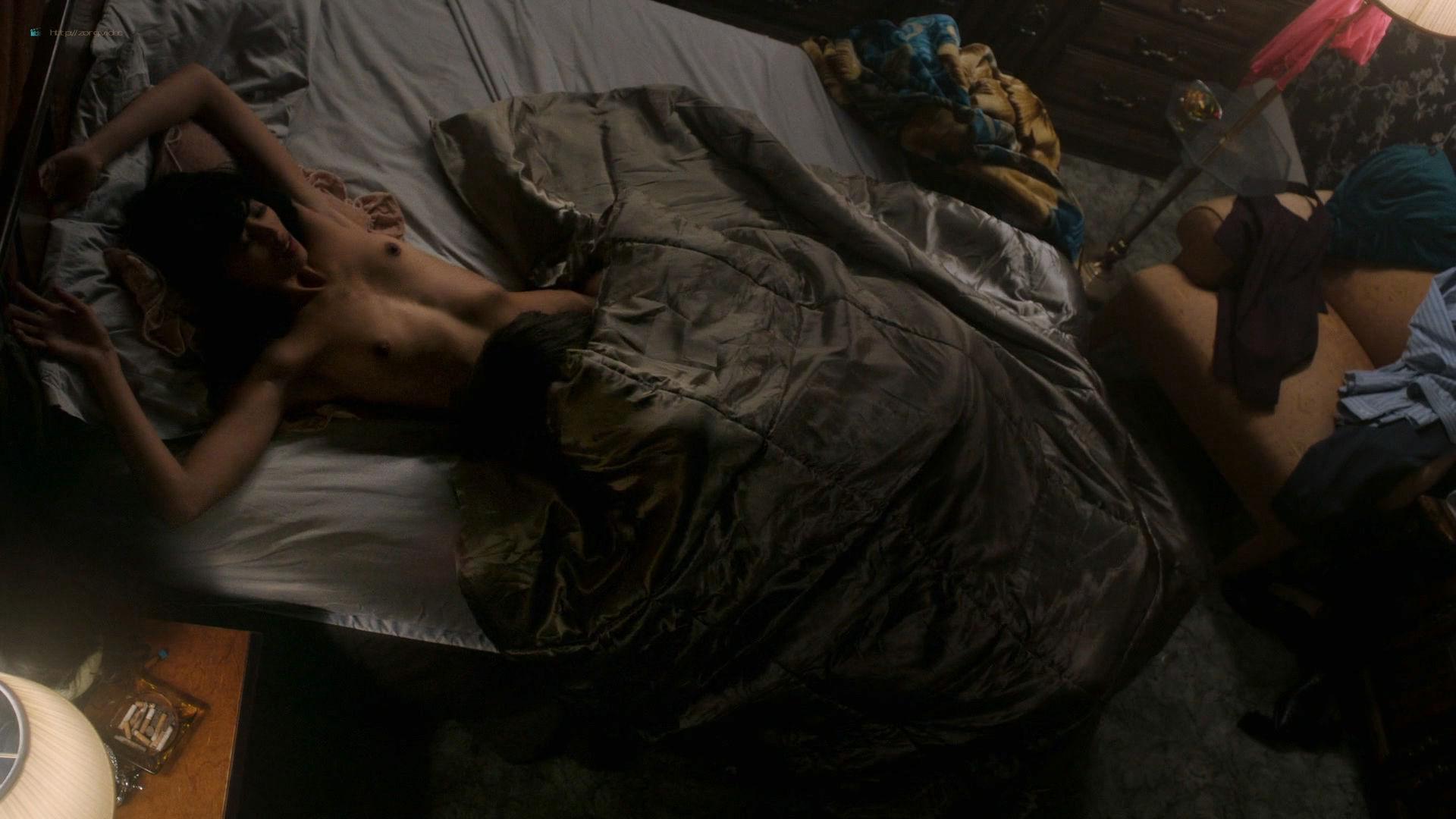 MaYaa Boateng nude topless in sex scene - City on a Hill (2019) s1e2 HD 1080p (5)