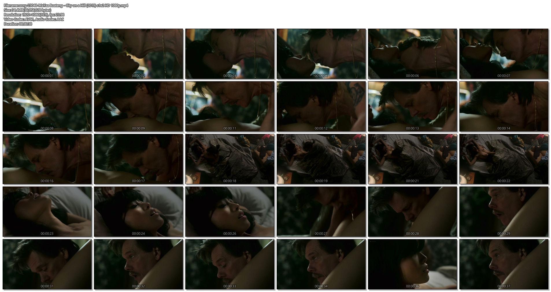 MaYaa Boateng nude topless in sex scene - City on a Hill (2019) s1e2 HD 1080p (1)