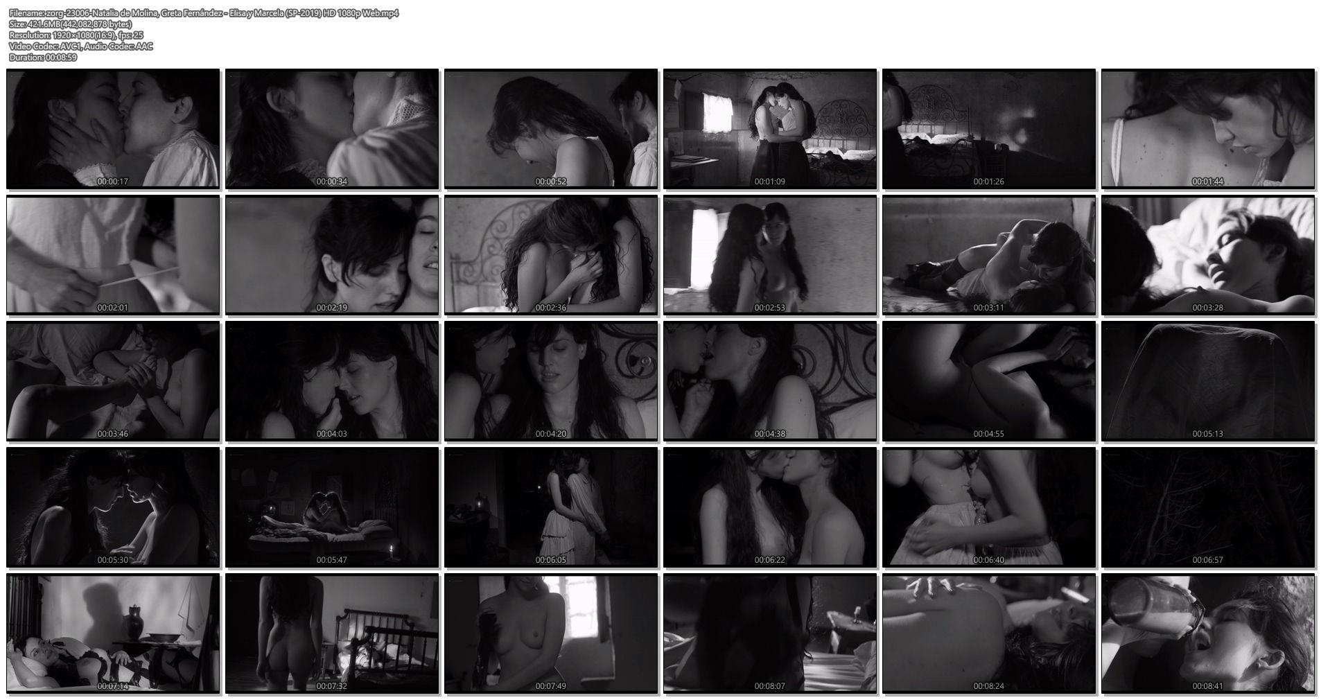Natalia de Molina nude full frontal Greta Fernández nude lesbian - Elisa y Marcela (SP-2019) HD 1080p Web (1)