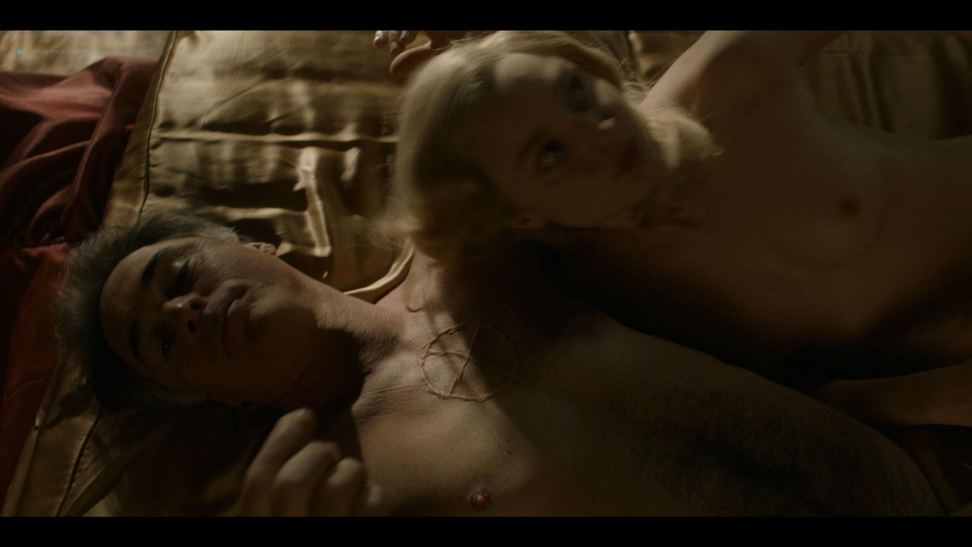 Bella Heathcote nude topless and butt Veronica Osorio nude - Strange Angel - (2019) s2e5 HD 1080p (8)