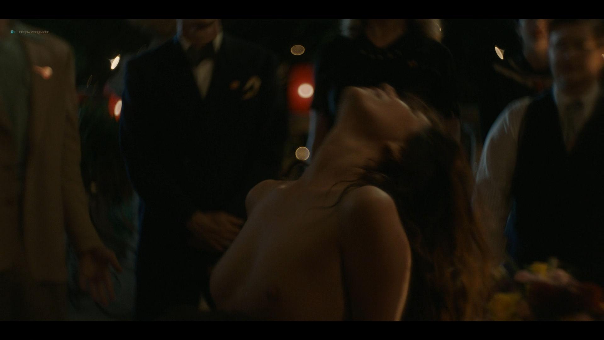 Bella Heathcote nude topless and butt Veronica Osorio nude - Strange Angel - (2019) s2e5 HD 1080p (4)