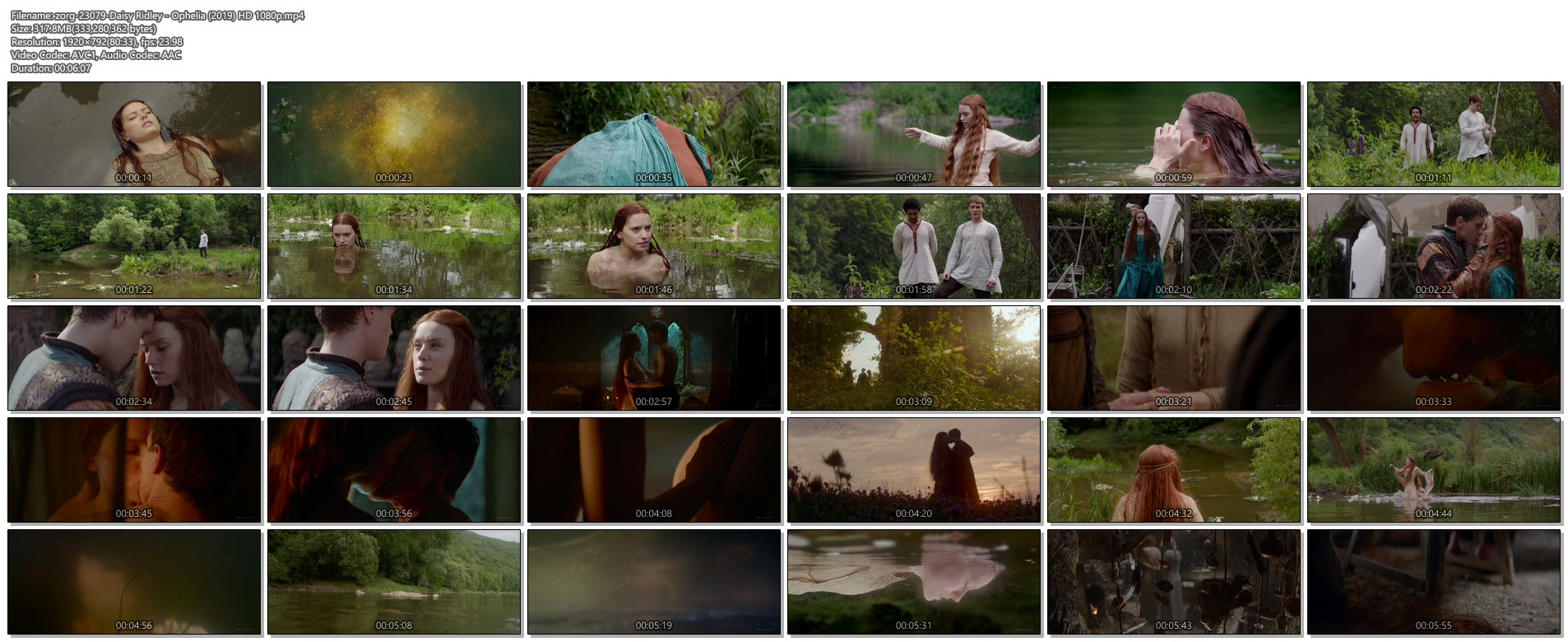 Daisy Ridley hot and sexy - Ophelia (2019) HD 1080p (1)