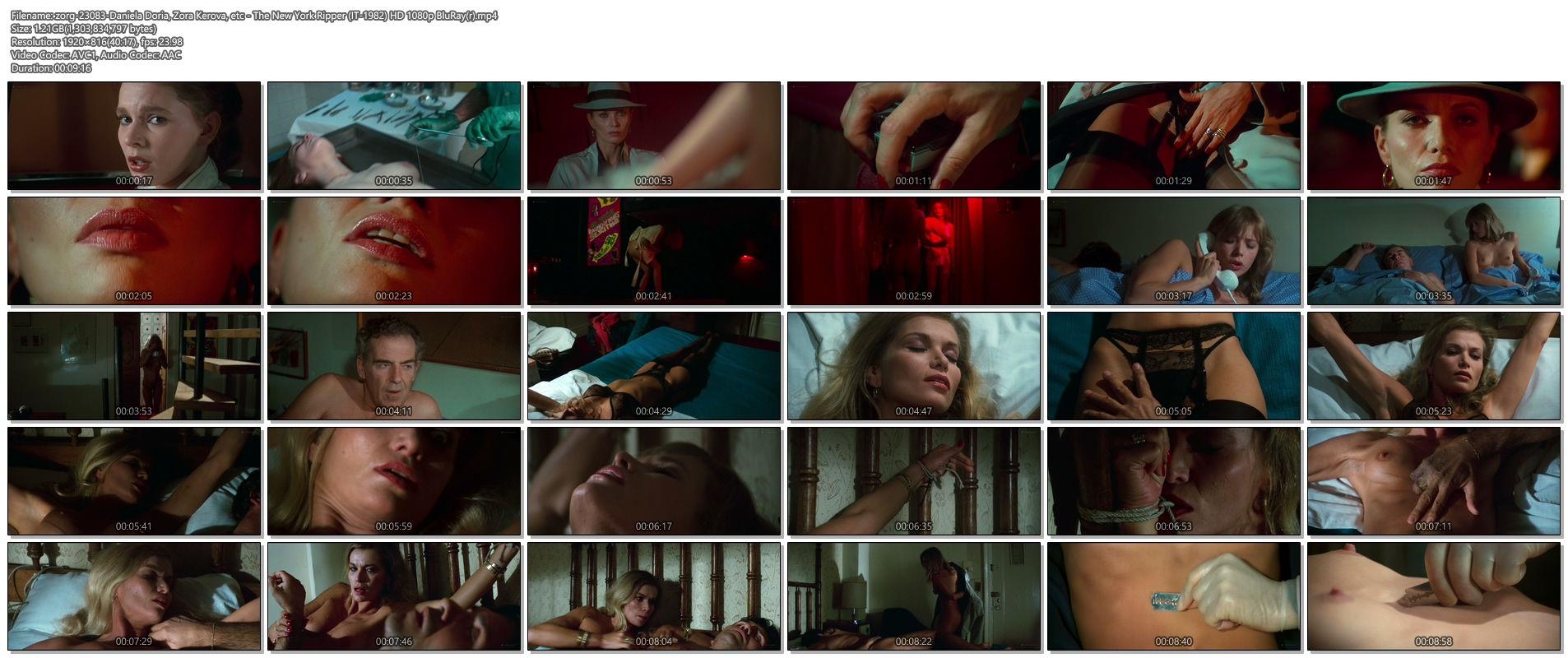 Daniela Doria nude full frontal Zora Kerova and other nude - The New York Ripper (IT-1982) HD 1080p BluRay(r) (1)