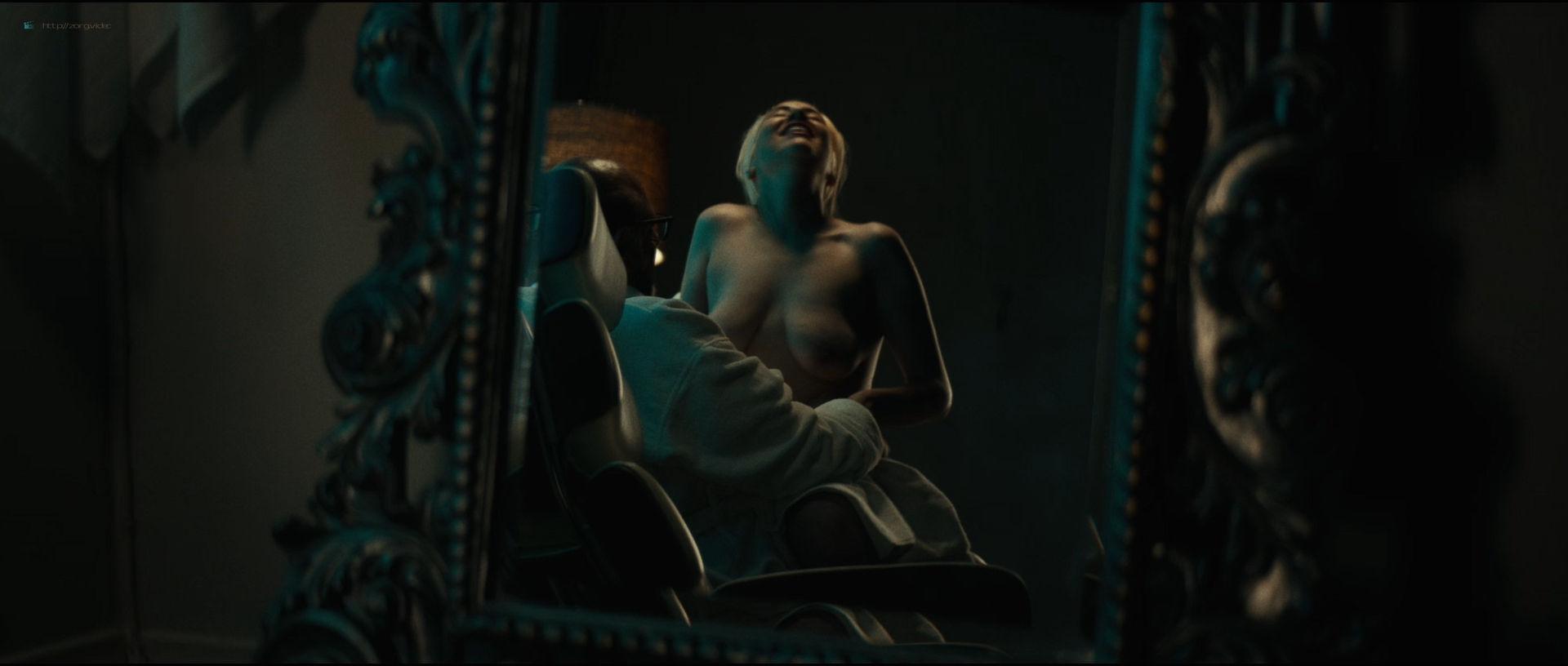 Emily Ratajkowski hot sideboob - Lying and Stealing (2019) 1080p WEB (14)