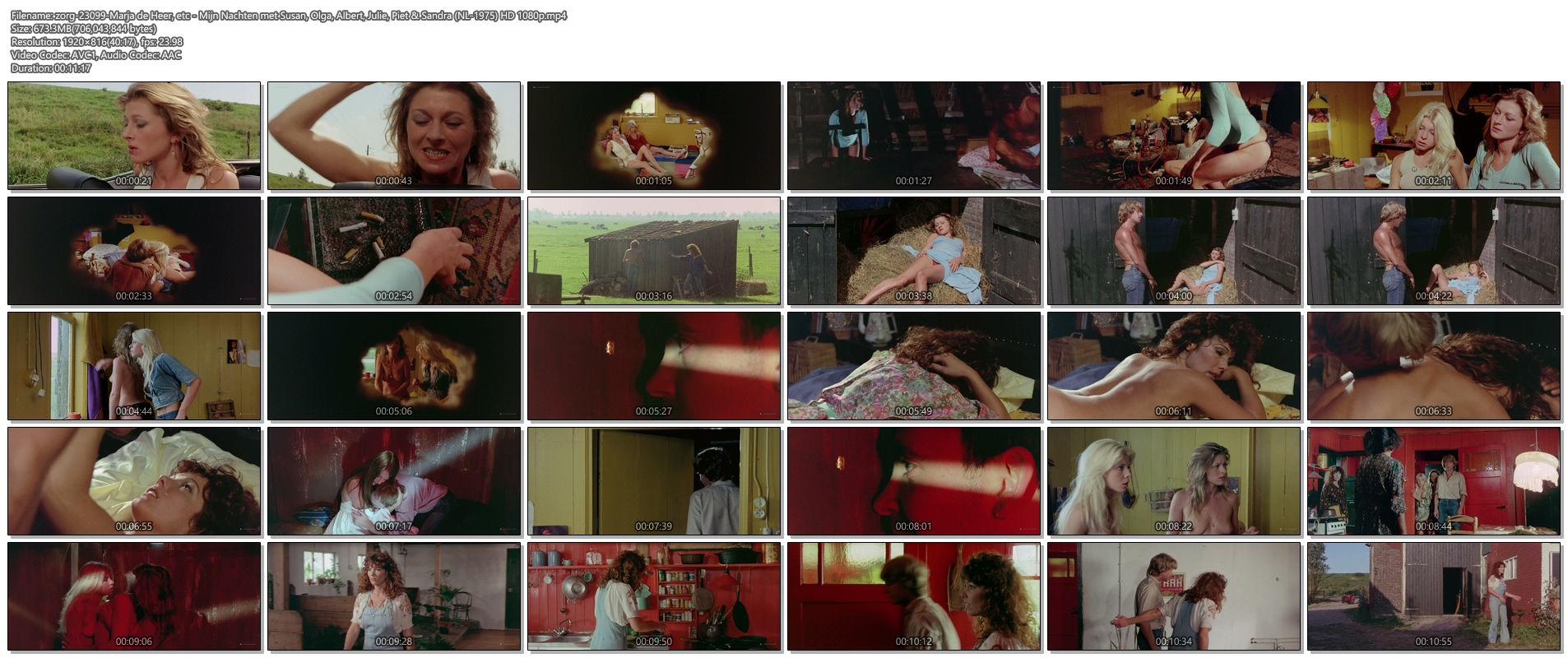 Marja de Heer nude full frontal others nude too - Mijn Nachten met Susan, Olga, Albert, Julie, Piet & Sandra (NL-1975) HD 1080p (1)