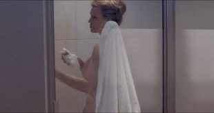 Michelle McCurry nude sideboob in the shower - Underwood (2019) HD 720p (3)