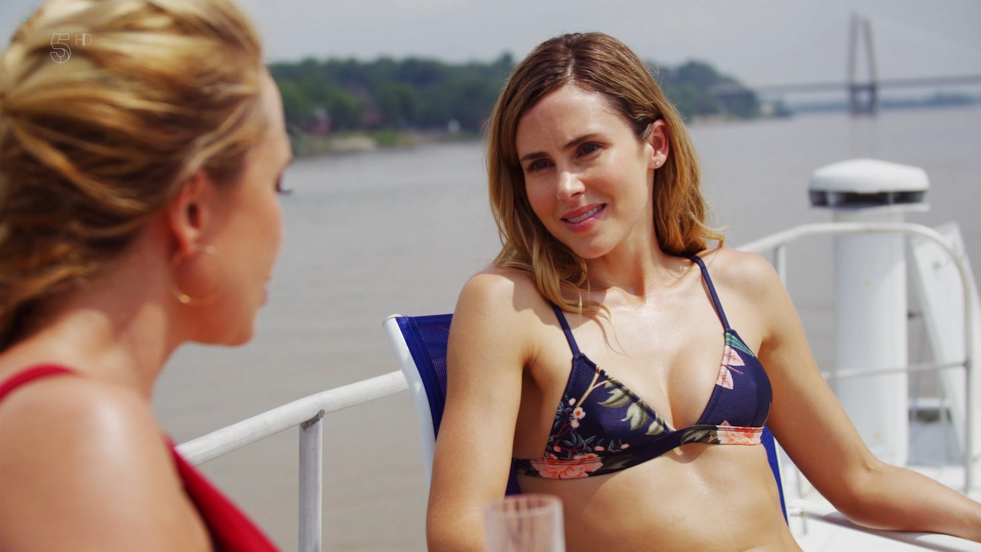 Anna Hutchison hot bikini Melissa Bolona and others sexy too - Murder at the Mansion (2018) HDTV 1080p (11)