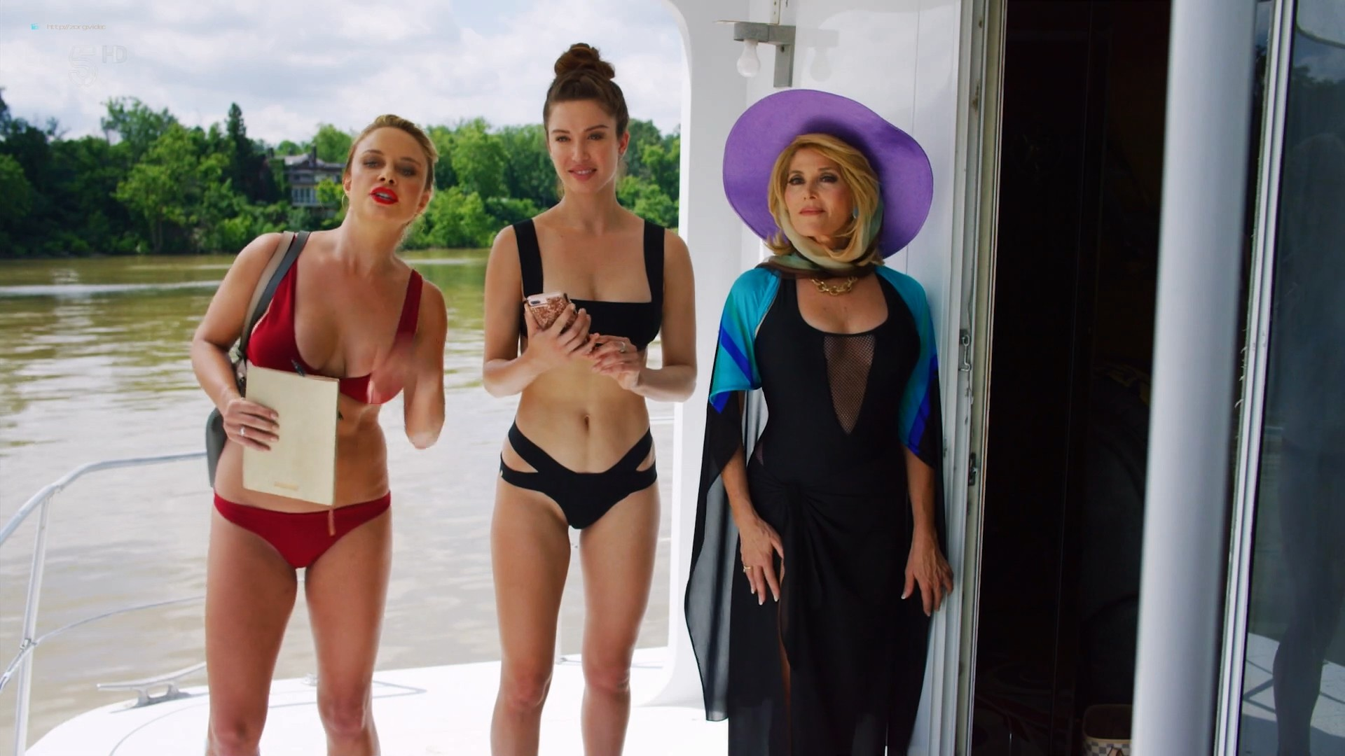 Anna Hutchison hot bikini Melissa Bolona and others sexy too - Murder at the Mansion (2018) HDTV 1080p (8)